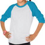 Aquarius Astrology Girl's 3/4 Sleeve Shirt