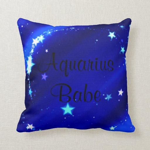 Aquarius Babe Pillow