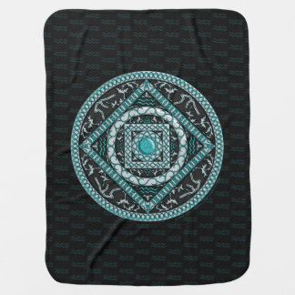 Aquarius Baby Blanket