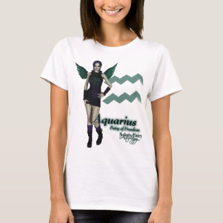 Aquarius Baby Doll (Fitted) T-Shirt