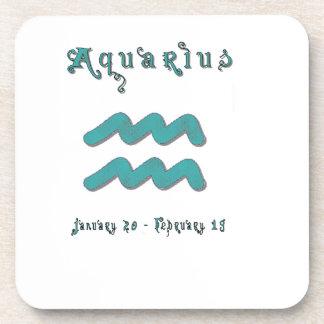 Aquarius Beverage Coaster
