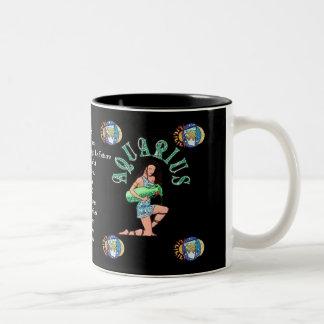 Aquarius Birth Sign Zodiac Mug
