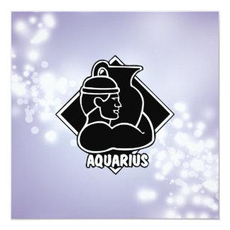 Aquarius Birthday Astrology Horoscope Zodiac Sign Card