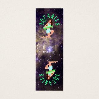 Aquarius Bookmark Card
