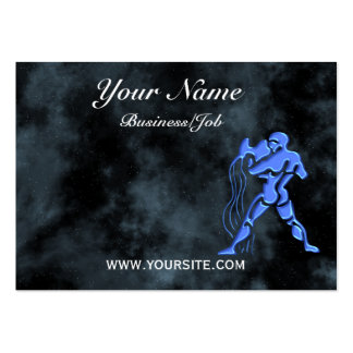 Aquarius Large Business Cards (Pack Of 100)