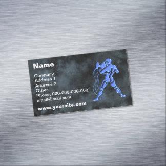 Aquarius Business Card Magnet