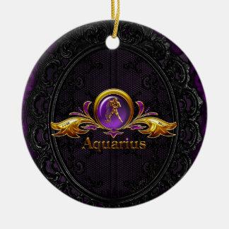 Aquarius Ceramic Ornament