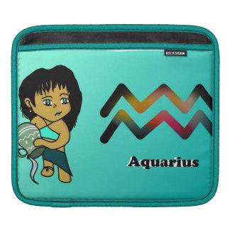 aquarius chibi iPad sleeve