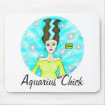 Aquarius Chick Mousepad