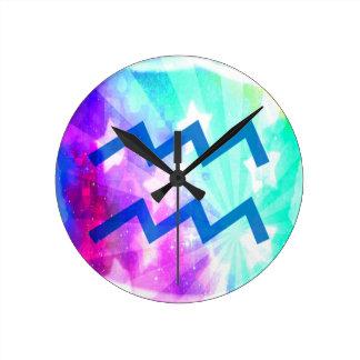 Aquarius Round Wallclock