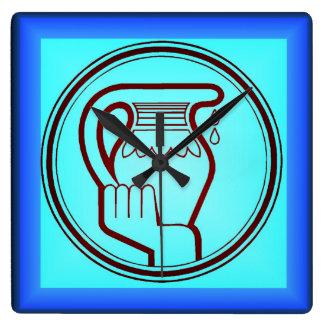 Aquarius Clock