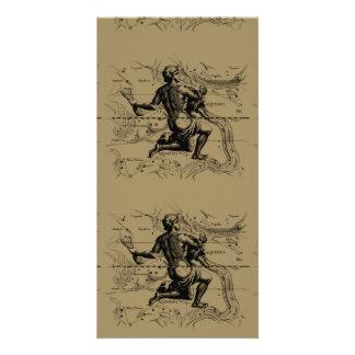 Aquarius Constellation Hevelius 1690 Jan 20 Feb 18 Photo Cards