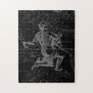 Aquarius Constellation Hevelius 1690 Jan 20 Feb 18 Jigsaw Puzzle