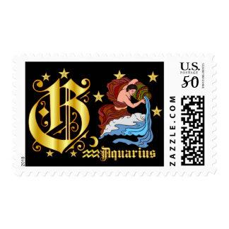 Aquarius-Design-1-G Postage