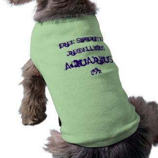 Aquarius Dog Tee