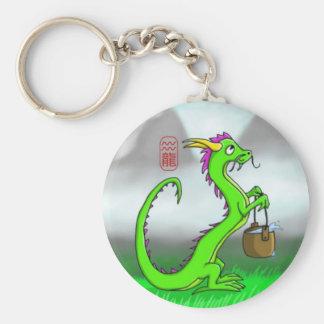Aquarius/Dragon Keychains