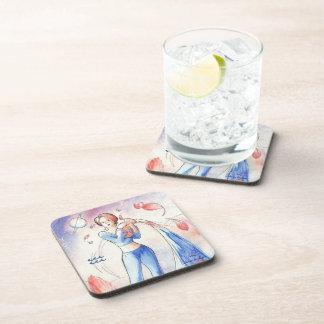Aquarius Drink Coaster