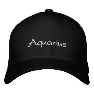 Aquarius Embroidered Baseball Cap