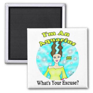 Aquarius Excuse Magnet