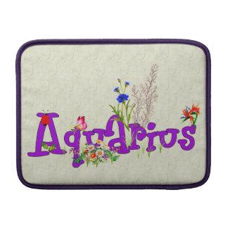 Aquarius Flowers MacBook Air Sleeve