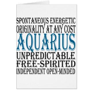 Aquarius Gifts Card