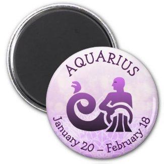 Aquarius Horoscope Astrology Zodiac Sign Magnet