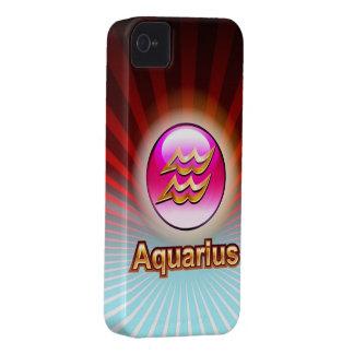 Aquarius Horoscope iPhone 4 Case