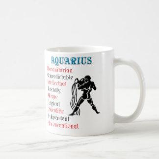 Aquarius Horoscope Zodiac Sign Coffee Mug