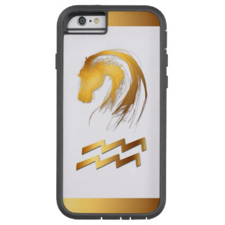 Aquarius Horse Chinese and Western Astrology Tough Xtreme iPhone 6 Case