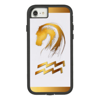 Aquarius Horse Chinese Western Astrology iPhone C Case-Mate Tough Extreme iPhone 8/7 Case