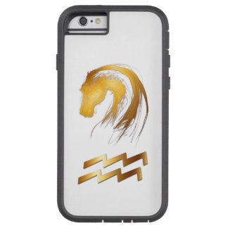 Aquarius Horse Chinese Western Astrology Tough Xtreme iPhone 6 Case