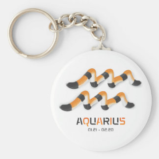 """""""Aquarius in  Tiger's Style"""". Keychains"""