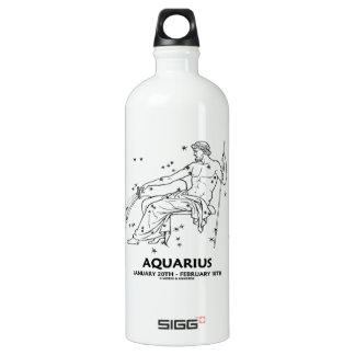 Aquarius (January 20th - February 18th) Aluminum Water Bottle