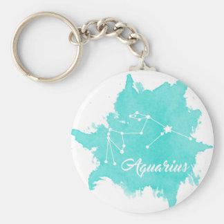 Aquarius Keychain