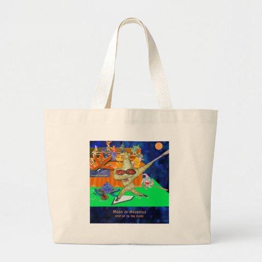 Aquarius Moon Jumbo Tote Bag