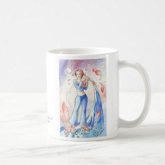 Aquarius Classic White Coffee Mug