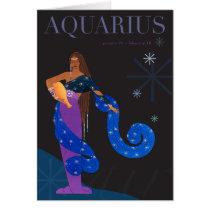 Aquarius Note Card