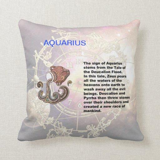 Aquarius Origin Pillow