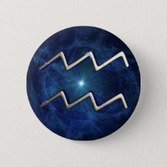 Aquarius Pinback Button at Zazzle