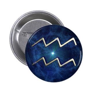 Aquarius Pinback Button