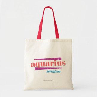 Aquarius Pink Tote Bag