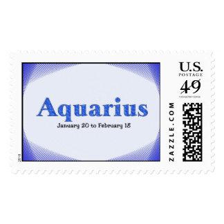 Aquarius Postage Stamp