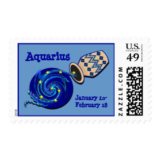 Aquarius Postage Stamps