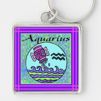 Aquarius Premium Keychain
