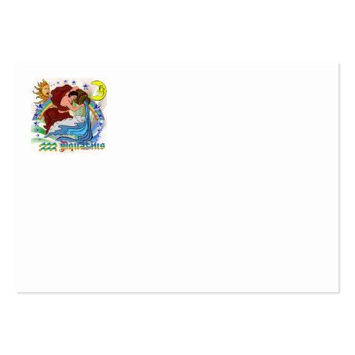 Aquarius-Product-Design-2 Large Business Cards (Pack Of 100)