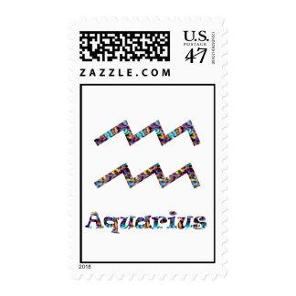 Aquarius Psychedelic Postage