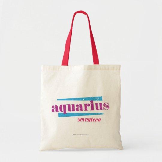 Aquarius Purple Tote Bag
