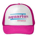 Aquarius Purple Trucker Hat