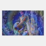 Aquarius Rectangle Sticker