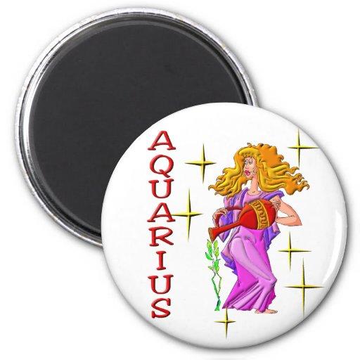 Aquarius (stars) 2 inch round magnet